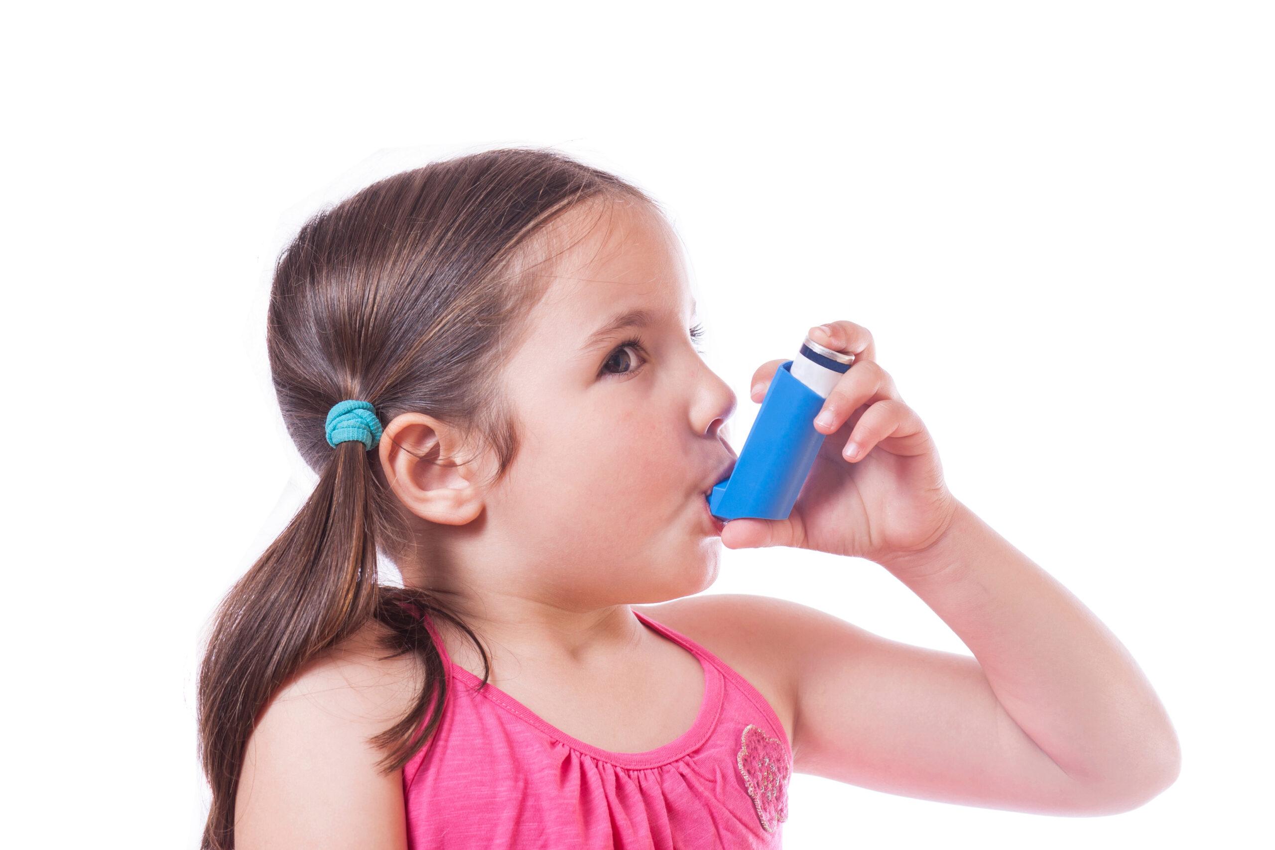 Menangani asma pada anak