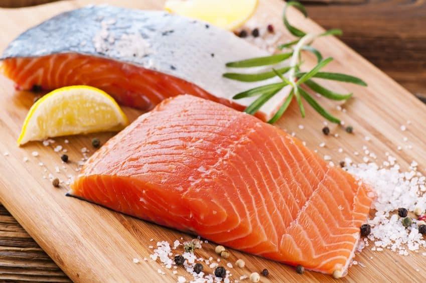 Ikan salmon ASI booster