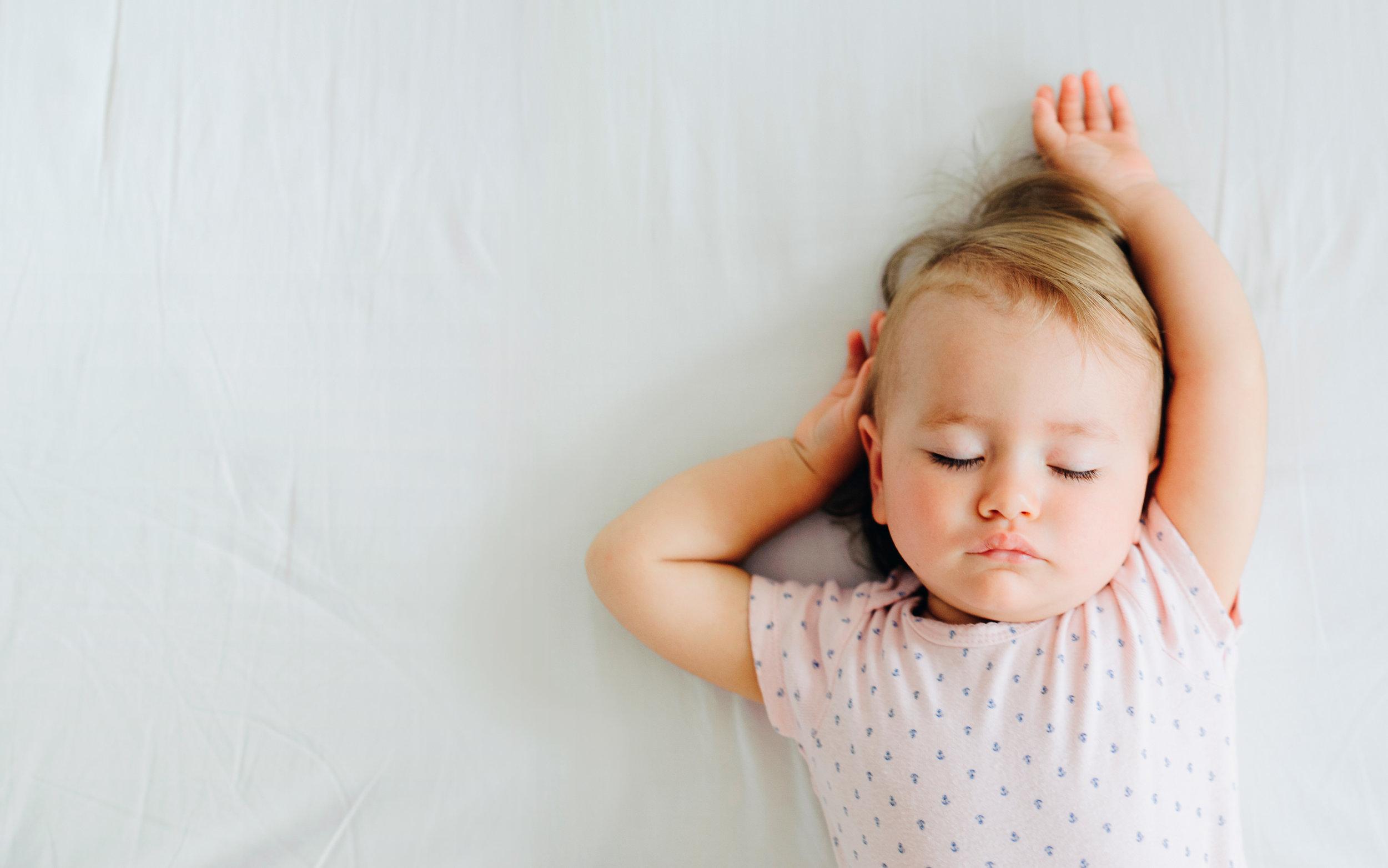 Tips balita tidur nyenyak di malam hari